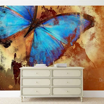 Giant non-woven wallpaper murals Butterfly Art 192